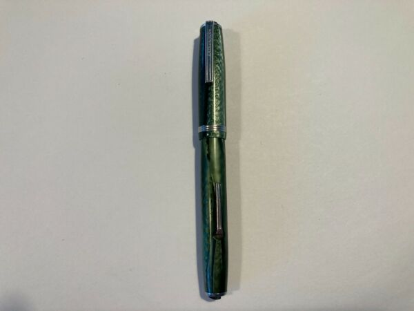 Vintage Green Esterbrook Fountain Pen 1555 Nib Untested For Parts or Restoration