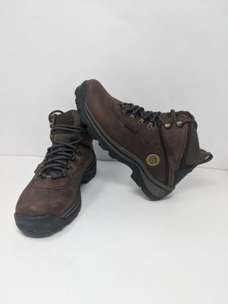 Timberland Men#x27;s White Ledge Mid Waterproof BootDark Brown 8.5 W US $64.99