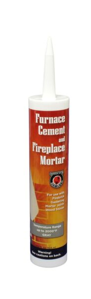 MEECO#x27;S RED DEVIL 121 Furnace Cement and Fireplace Mortar Gray $17.53