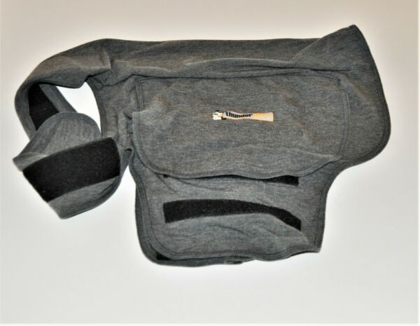 Thundershirt 41 64lbs Dog Large Anxiety Jacket Solid Gray $12.00