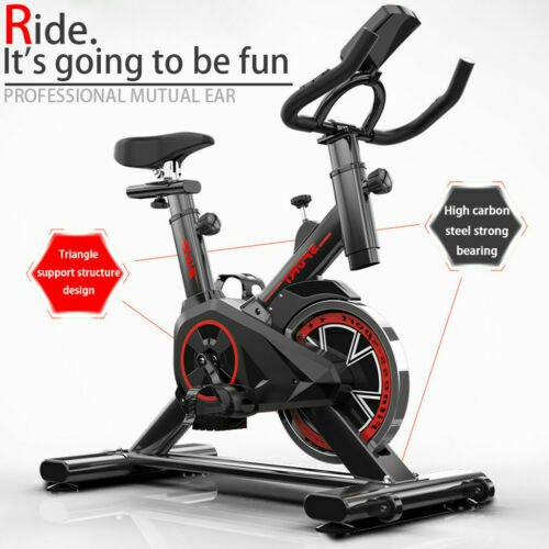 Pro Stationary Exercise Bike Bicycle Trainer Fitness Cardio Cycling Training NEW $164.89