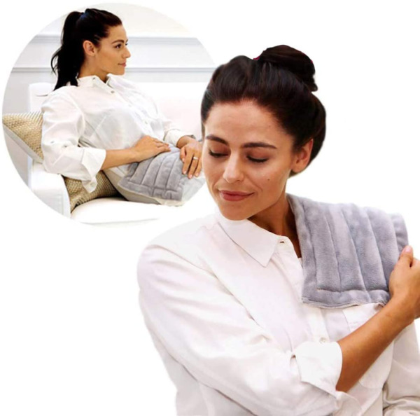 Heating Pad Solutions Lavender Microwavable Buddy Natural Heating Pad for Cr $39.13