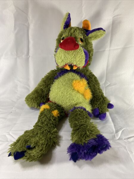 """Manhattan Toy Galoompagalots Mrax Monster Large Red Nose 24"""" Plush Stuffed Toy $60.00"""