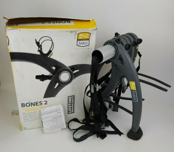Saris Bones 2 Bike Trunk Rack Used Once In Box w Instructions Car Holder Carrier $119.99