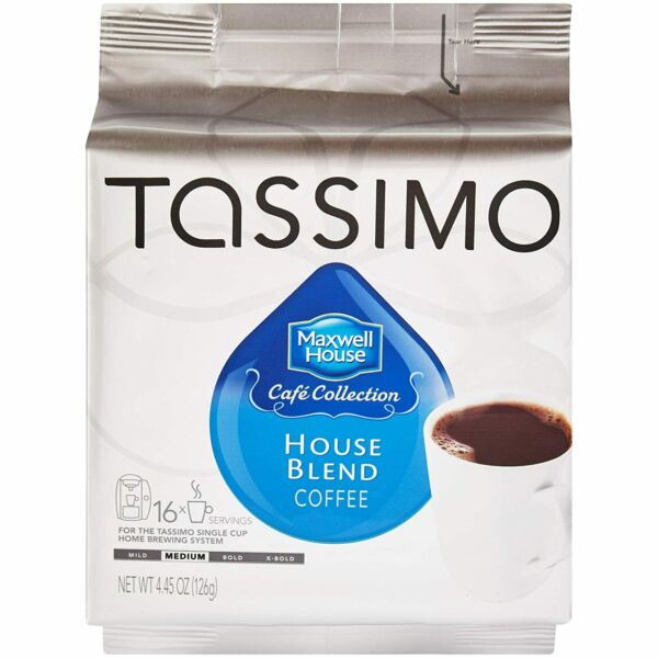Roast Coffee T Discs for Tassimo Brewing Systems 80 T Discs 5 Packs of 16