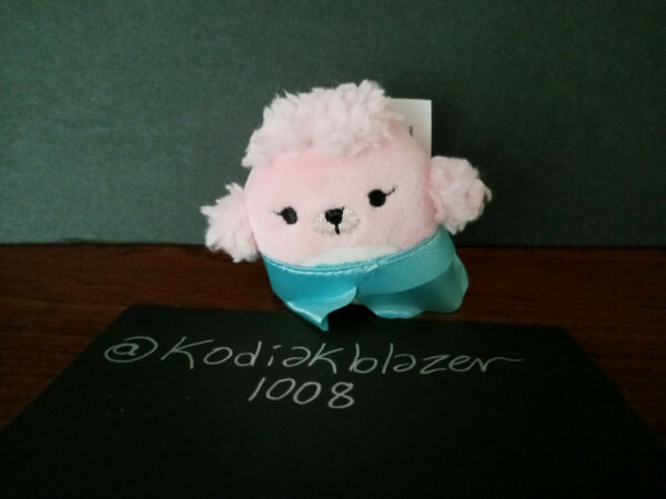Chloe Pink Poodle Dog 2quot; Squishville Micromallow Squishmallow Blind Bag Series 1 $14.99
