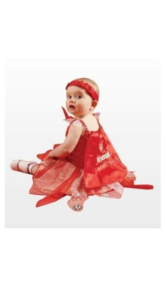 Baby Costume Fancy Dress Football Arsenal Fairy Outfit 12 24 Months