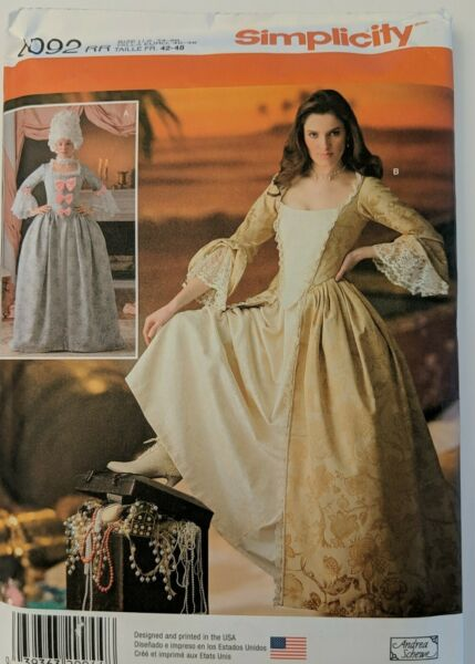 Simplicity Costumes for Adults #4092 Size 14 20 $10.49