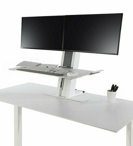 Humanscale Height Adjustable Quickstand Desk: Heavy Mount with Large Platform amp; $924.18