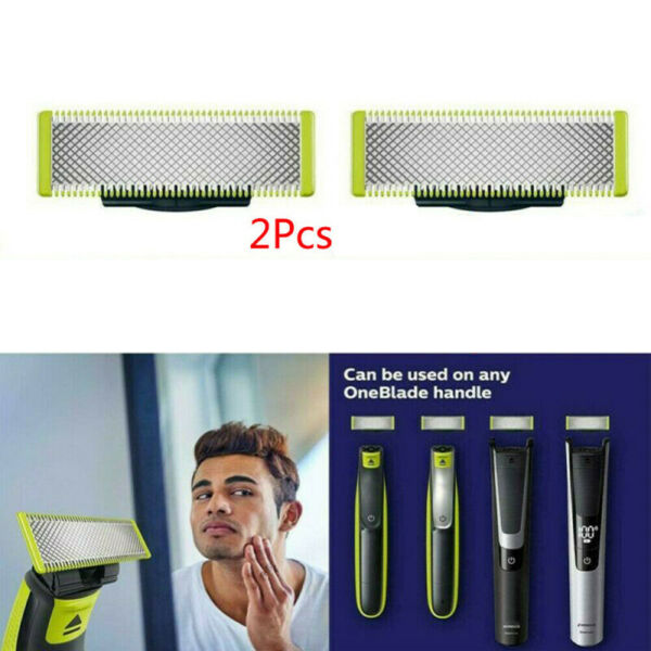 2pcs Replacement Blades For Philips Norelco One Blade Electric Shavers