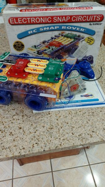 ELENCO Electronic Snap Circuits RC Snap Rover parts only