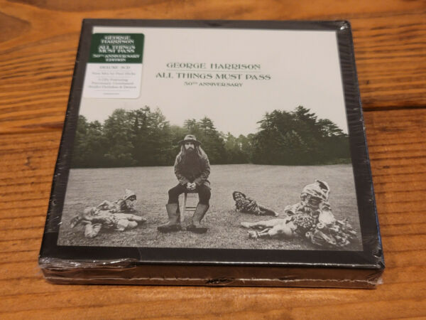 George Harrison All Things Must Pass 50th Anniversary 3 CD NEW W FREE SHIP
