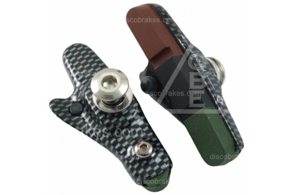 Carbon Effect Road Brake Shoes amp; Tri Compound Pads for Shimano Dura Ace Ultegra $14.29
