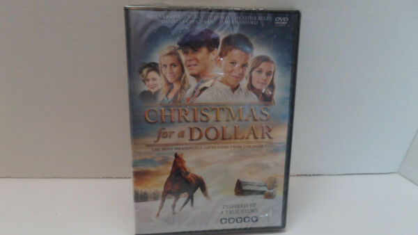Christmas for a Dollar Inspired by a True Story DVD NEW Sealed $5.00