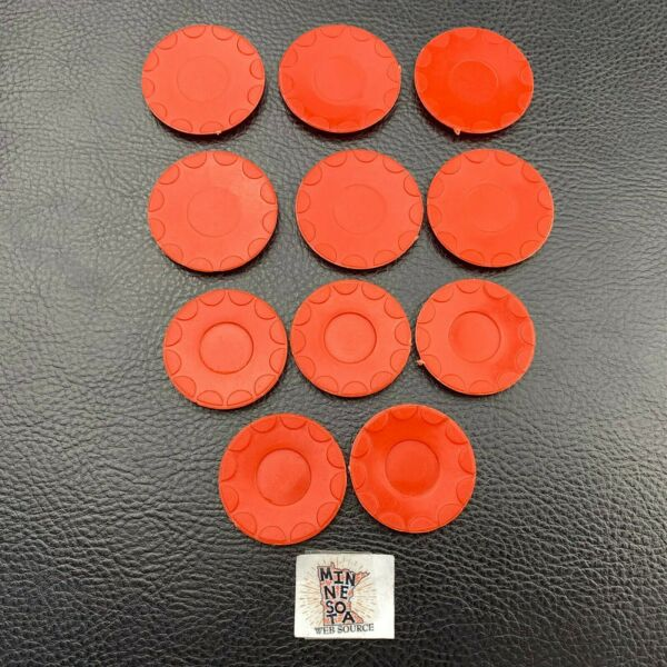 11 Vtg 1960#x27;s Deluxe Reading Dream Kitchen Red Dishes Lot for Barbie Dolls $12.95