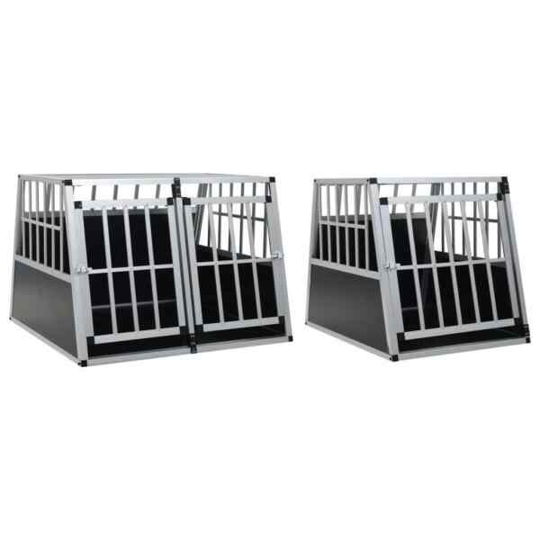 Dog Cage Dog Kennels Durable Dog Crates with Single Double Door Multi Sizes $162.53
