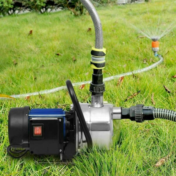 1.6HP Stainless Steel Electric Water Pump Garden Sprinkling Irrigation Booster $107.99