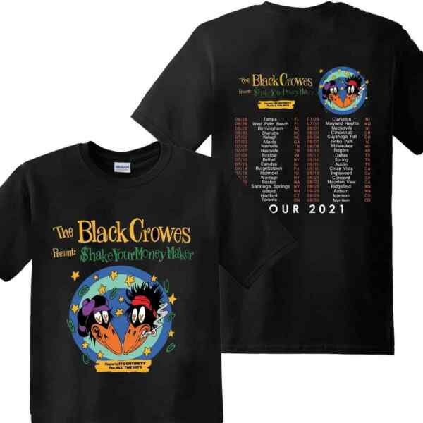 HOT SALE The Black Crowes Shirt 30th Anniversary Tour 2021