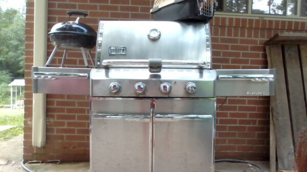 webber summit natural gas grill $605.00
