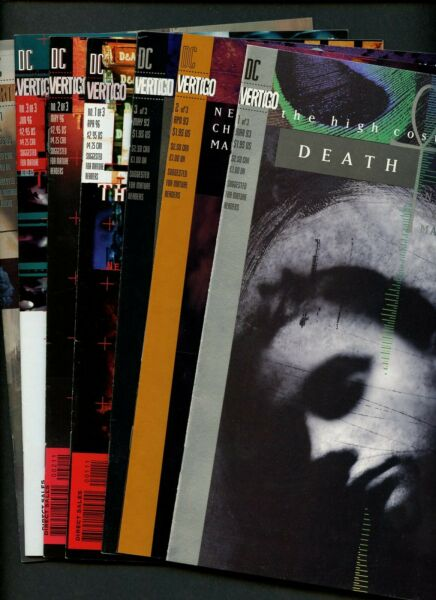 Death High Cost of Living 123 ...Time of Your Life 123 ...Gallery 1 ^7 Bks^ $17.99