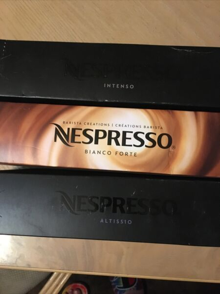 Nespresso VertuoLine Capsules Variety Lot 3 Sleeves See Pics For Flavors