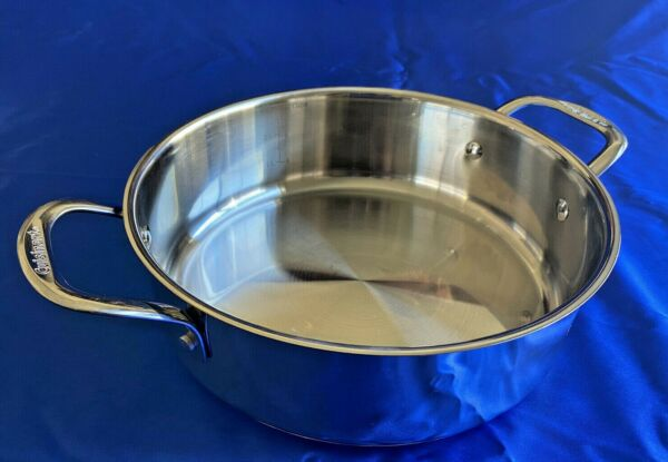 Cuisinart Stainless Steel 3.5 Quart Pan Model #7755 24PP Induction Ready