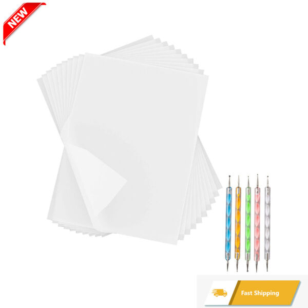 180 Sheets White Carbon Paper Transfer Tracing Copy Paper 11.7 x 8.3 Inch and... $15.44