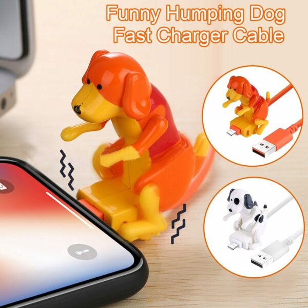 Cute Funny Humping Dog Fast Charger Cable For Apple Iphone Type C Charging $10.99