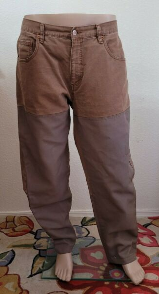Columbia Men#x27;s Size 36 Field Hunting Duck Canvas Pants 36x32 Upland Heavy 2 lbs $39.95