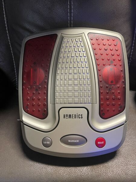 HoMedics Pro Ultra Luxury Vibrating Foot Massager AK 3 With Heat For Tired Feet $37.99