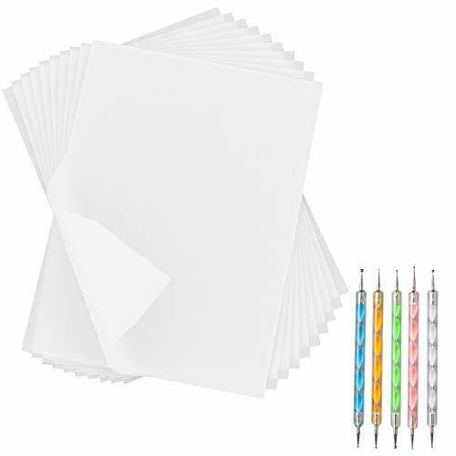 White Carbon Paper Transfer Tracing Copy Paper 180 Sheets 11.7 x 8.3 Inch $14.69