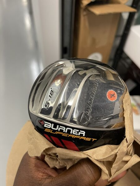 TaylorMade Burner Superfast Driver 5.18 Graphite Stiff Right See Picture