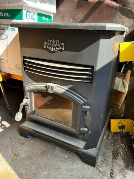 King Pellet Stove Model 5502M Used Excellent Condition $750.00