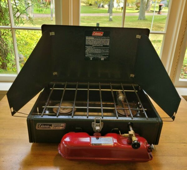 Coleman Model 425F Camp Stove 9 1991 2 burners very light use *GREAT CONDITION* $59.00