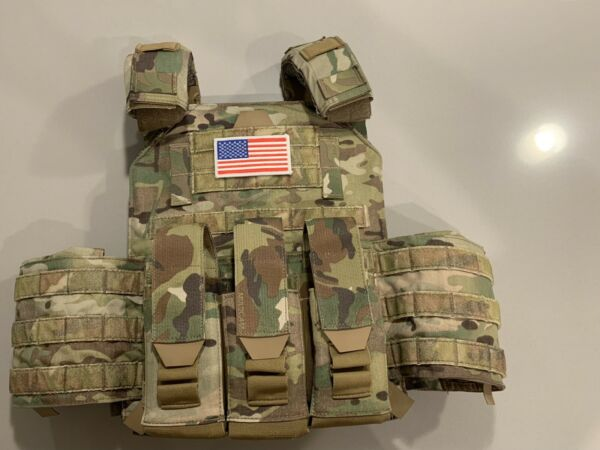 """Level III 11"""" x 14"""" Plate Carrier Package $515.00"""