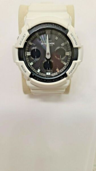 Casio G SHOCK GAS100B 7A 52.5mm White Resin Case and Band Men#x27;s Wristwatch $74.99