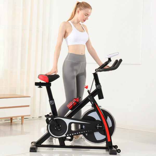 Indoor Exercise Bike Stationary Cycling Bicycle Cardio Fitness Workout US $169.99