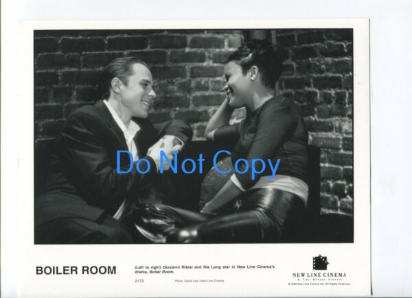 Giovanni Ribisi Nia Long Boiler Room Original Glossy Still Movie Press Photo
