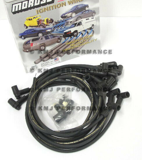 Moroso 9867M SBC Small Block Chevy 305 350 400 Spark Plug Wires HEI 90* Under H
