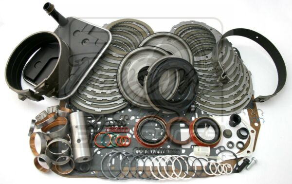 Chevy 4L80E Overdrive Transmission Deluxe Rebuild Kit 1997-Up W/ Bands, Bushings