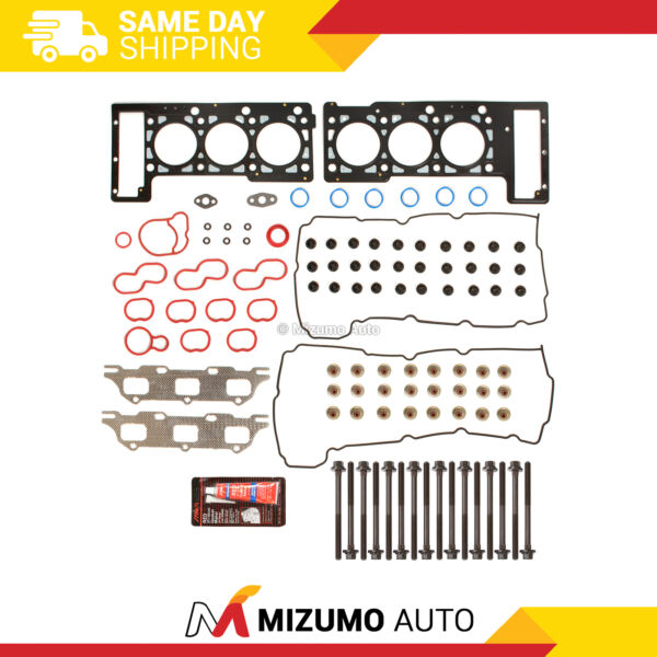 Head Gasket Bolts Set Fit 01-10 Dodge Intrepid Chrysler 300 2.7L V6