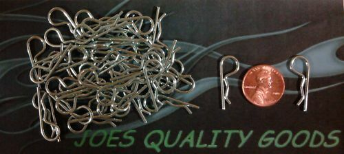 50 RC BODY CLIPS CAR TRUCK BUGGY  BODY PINS 110 SCALE