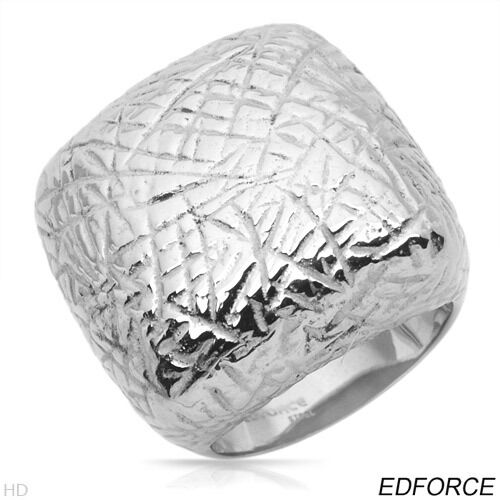 EDFORCE Dazzling Brand New Ring Beautifully Designed in Stainless steel