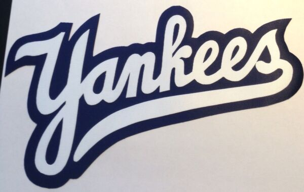 HUGE NEW YORK YANKEES IRON-ON PATCH - 6