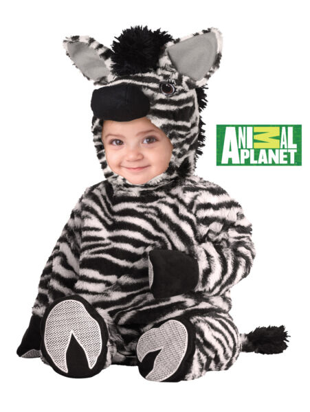 Zebra Madagascar Infant Baby Costume
