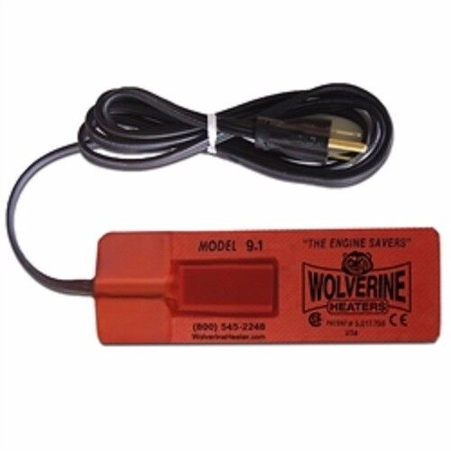 Wolverine Engine Heater Oil Pan Tank Heater Pad heater 9.1CSAE-120V 125 Watt CSA