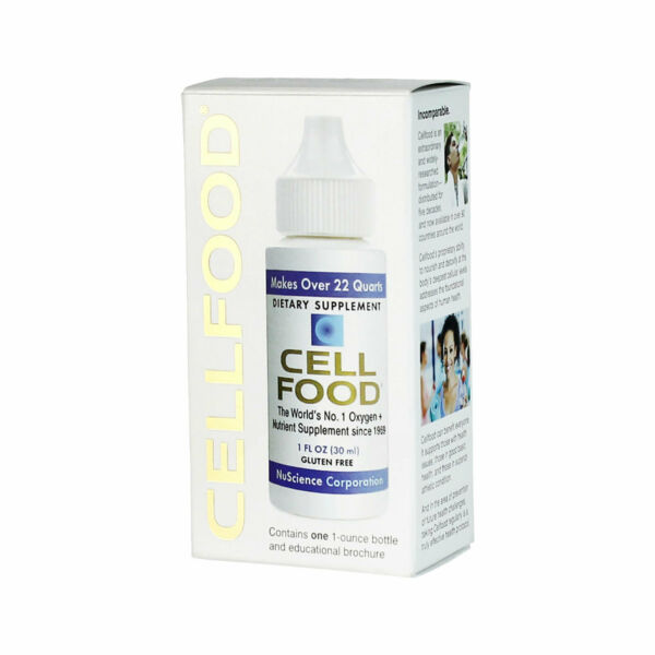 1 Bottles CELLFOOD ORIGINAL 1 FL Oz  OXYGEN ENERGY by Lumina Health - FREE SHIP