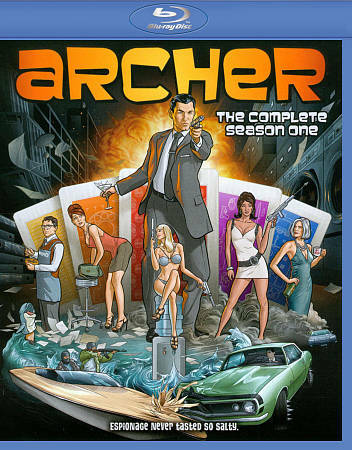 Archer: Season one 1 (Blu-ray Disc, 2011) New Sealed & Fast Free Ship