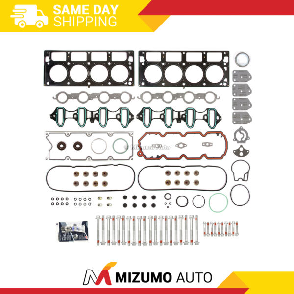 Head Gasket Bolts Set Fit 04 14 GMC Buick Cadillac Chevrolet 4.8 amp; 5.3 OHV