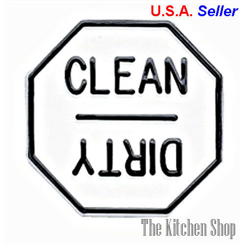 Clean  Dirty Dishwasher Magnet - Kitchen Tools & Gadgets